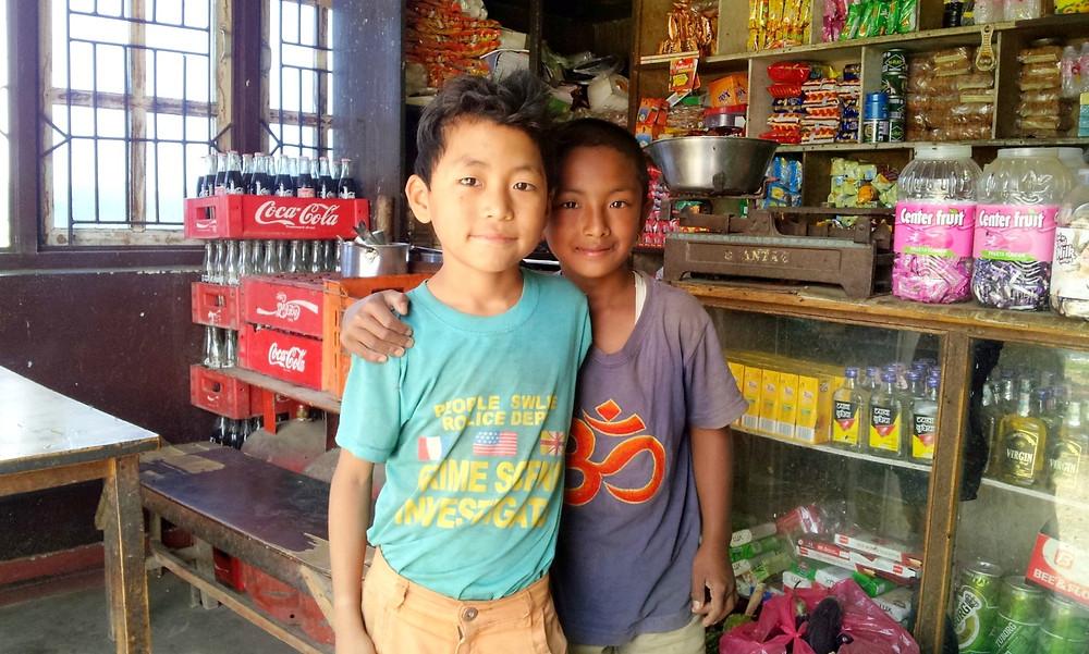 ネパールの雑貨屋