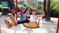 ネパールの少女とトラのお話