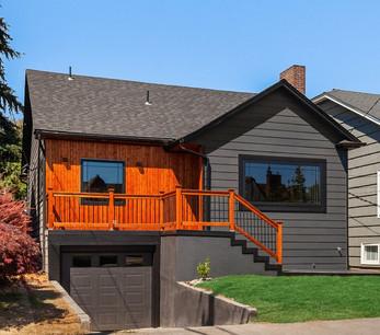 Dark Grey Home Remodel Idea