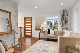 Small Living Room Renovation Idea