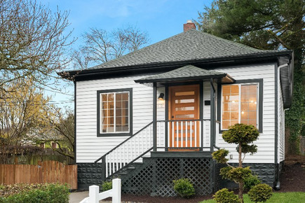 Elegant House Exterior Remodel Design