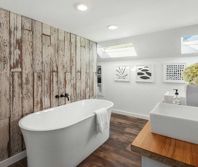 Contemporary Bathroom Remodeling Design