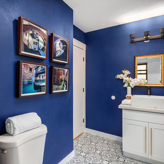 Bathroom Design - Into The Blue