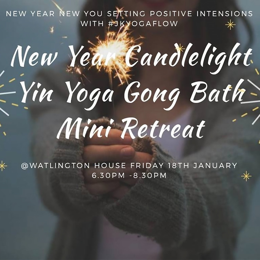 New Year New You Yin Yoga Gong Bath