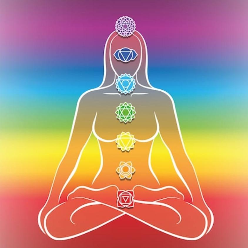 Chakra Balance Restorative Yin Yoga + Sound Meditation