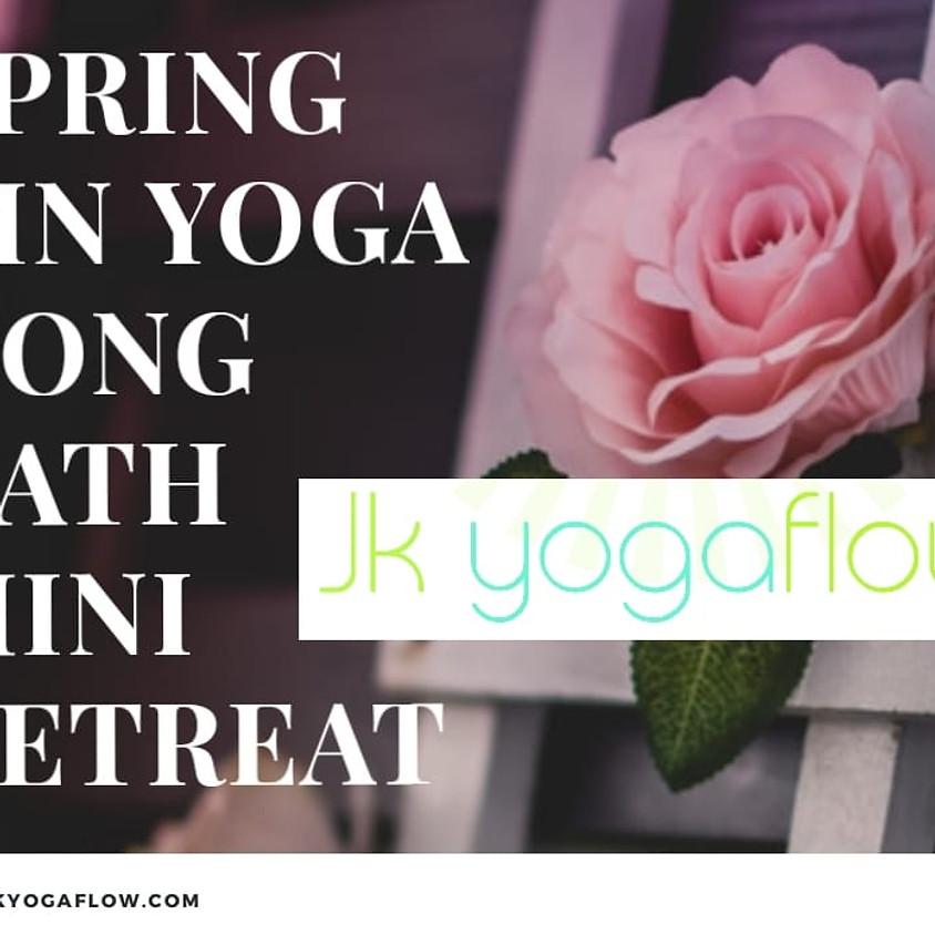Spring Renewal Yin Yoga - Gong Bath Mini Retreat Evening