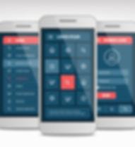 Las pantallas de la aplicación