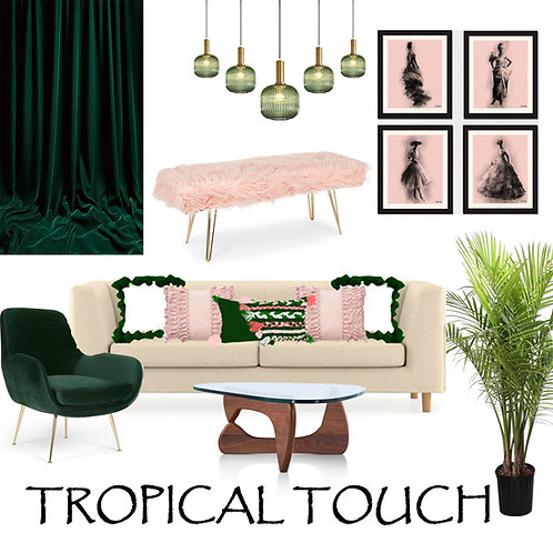 Boho Tropical Touch combo