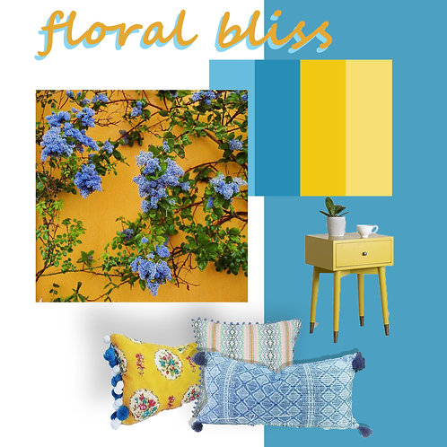 Floral Bliss combo L shaped