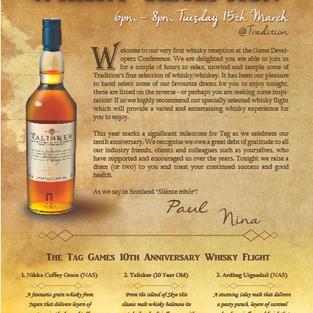 Whisky Flyer Design