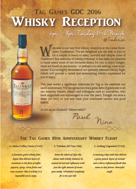 Whisky Flyer Design