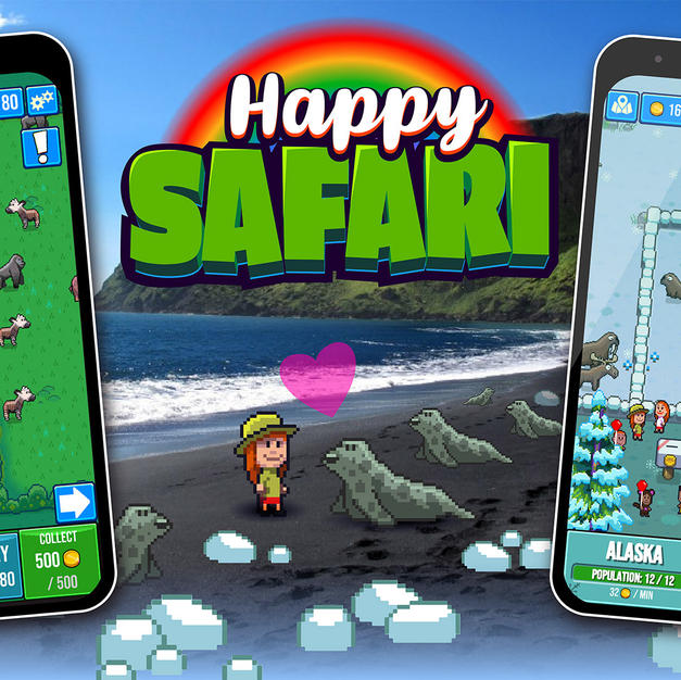 Screenshots of the Safari.