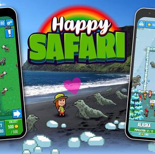 Screenshots of the Safari.