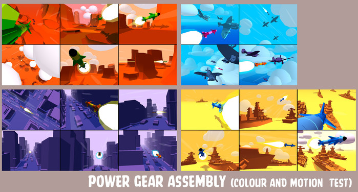 Power Gear Assembly