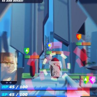 Battle Screen GUI test