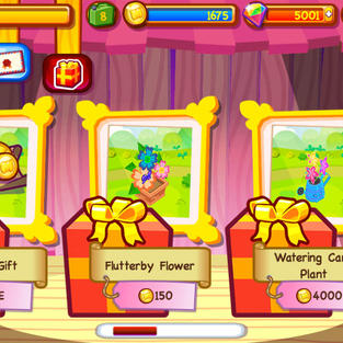 Gifting screen
