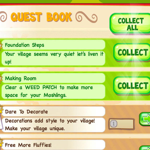 Example of game GUI