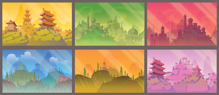Belly and Brain Backgrounds