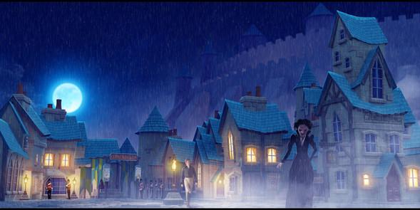 Fantasy Period Village