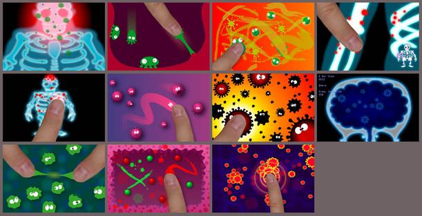 Germ game art