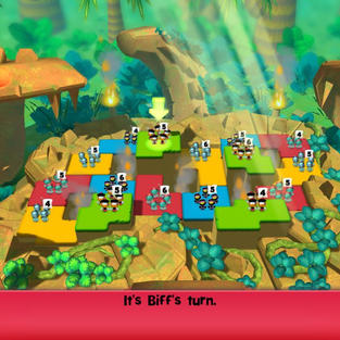 One of the Jungle Level locations