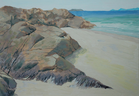 Camusdarach Rocks