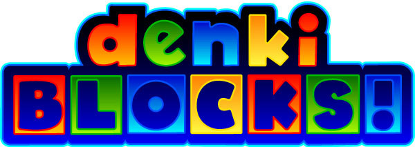Denki Blocks! logo