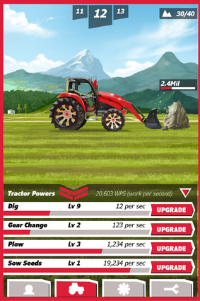 Tractor game!
