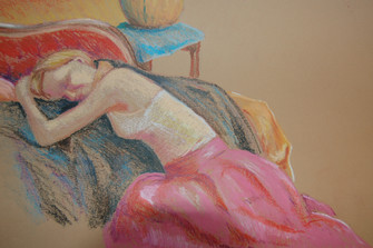 Oil Pastel sketch