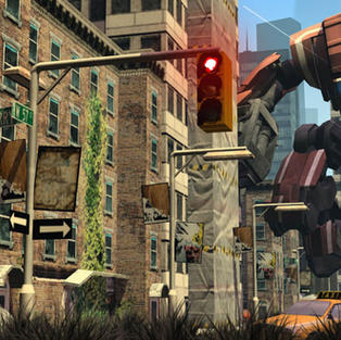 City attack