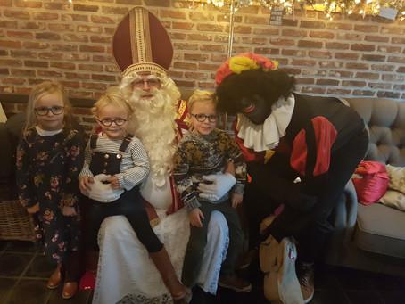 De Sint op bezoek
