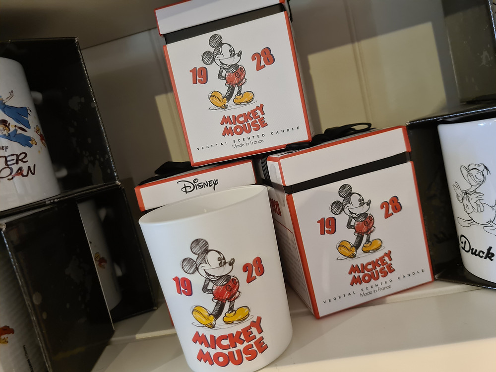 Mickey mouse geurkaars 1928