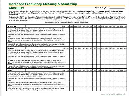 PS-SF-Cleaning-Checklist