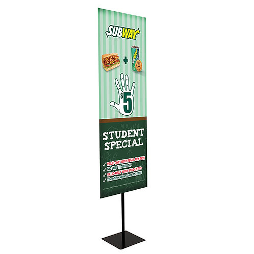 VERTICAL BANNER SIGNS