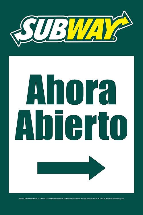 Subway-Ahora Abierto-Green-PortableTube