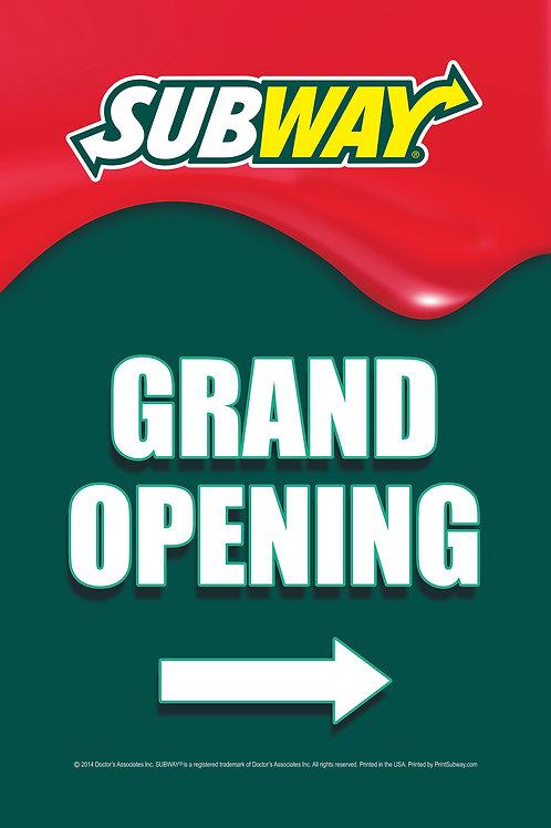 Subway-Grand Opening-Green-PortableTube