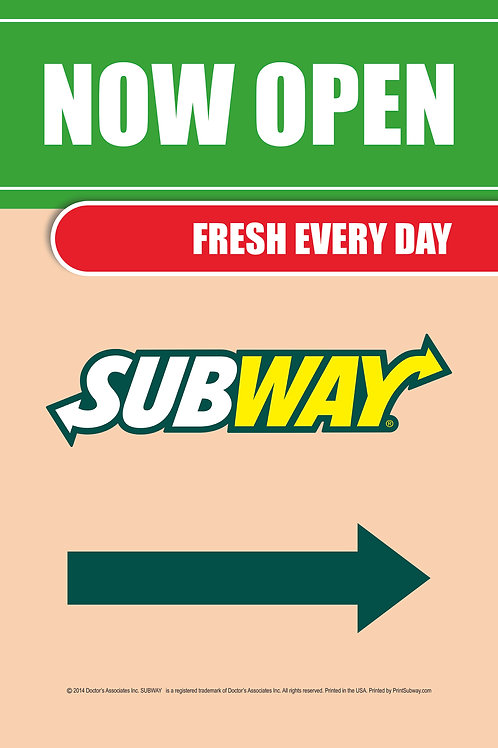 Subway-Now Open-Full Color-PortableTube