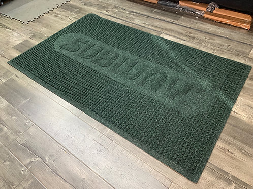 3'X5' SUBWAY LOGO FLOOR MAT