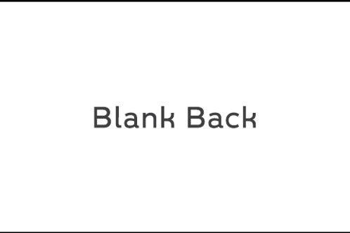 Business Cards - Back Sample 8