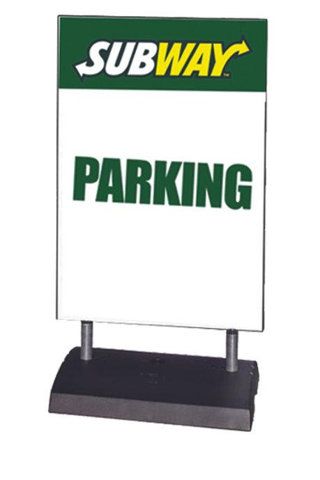 Springer Sidewalk Sign