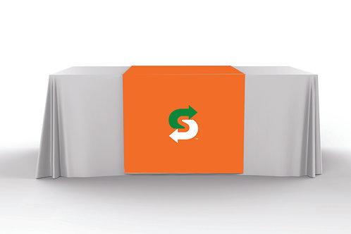 Orange Table Runner - Choice Mark