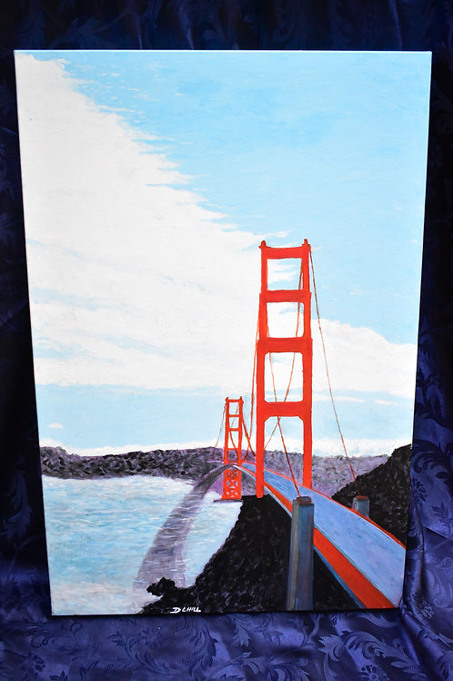 21 / Golden Gate Bridge, Artist David Hill Value $300