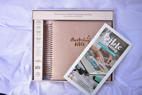 18 Boxed Illustrated Bible for the creative Christian  Value $99