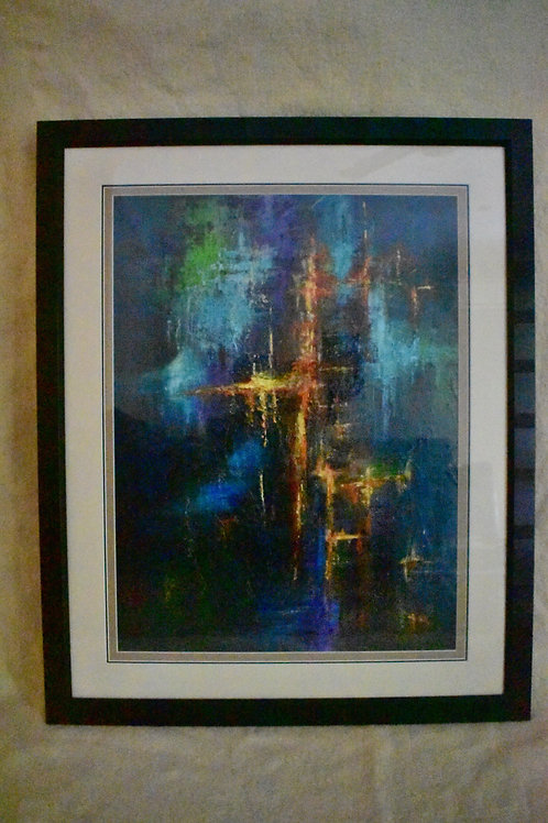 16' Glorious Eternity'original Framed original painting  1050mmx880mm Value $800