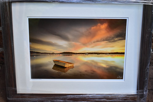 17 Richard Stanley Framed print 450mm x 340 mm VALUE $300