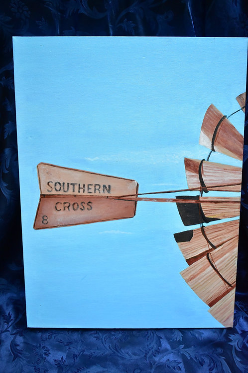 23 / Southern Cross , Artist David Hill value $300