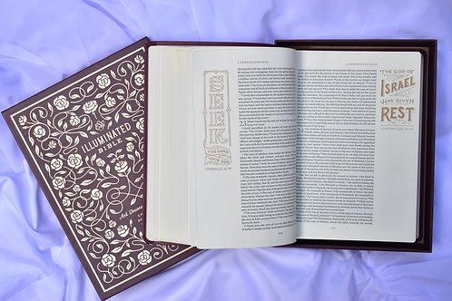 19 Illuminated Bible, Art Journaling Edition, ESV VALUE $60