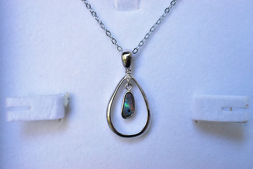 03 / 1 x Boulder Pendant in ST SILVER 6ct Cubic Zirconia VALUE $650