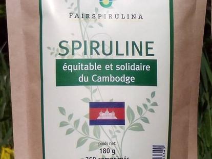 New: Fair trade and socially responsible Spirulina from Cambodia