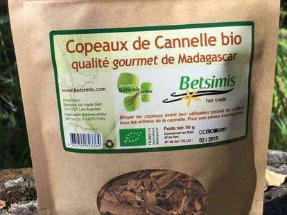 New: Organic cinnamon chips